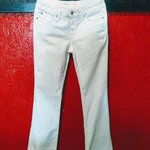 Michael Kors- White Stretch Denim Jeans